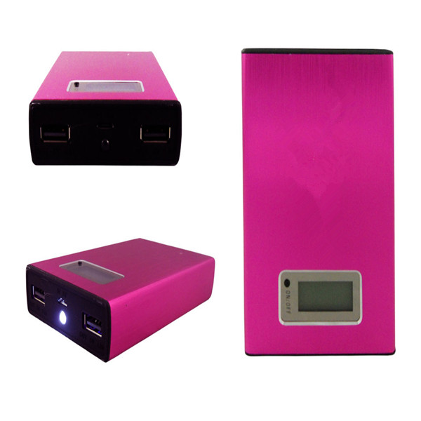 fast charge 8800mah metal case oem portable led power bank for ipad
