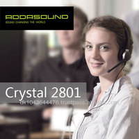Premium Quality Noise-cancelling Headsets for call centers and offices Crystal 2801