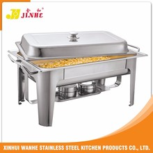 Deluxe Half size rectangular induction chafing dish/cheap chafing dish
