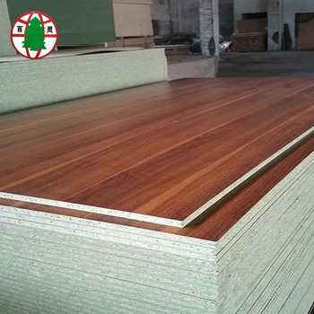 China Supplier 1220*2440*8-30mm Waterproof Melamine Particle Board