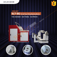 label tape plastic slitting machine with CE