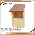 Wholesale Garden Decorative Wooden Bird and insect seed Feeder