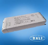 80w 1860ma one channel constant current DALI led switching power supply manufacturer CE RoHS certificate