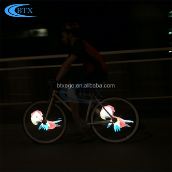 Wholesale Promotional Bicycle Accessory LEDs Type Bicycle Wheel Light