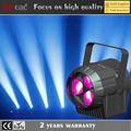 New 3x15w par 4 in1 rgbw led wash stage lighting simulator par light with zoom effect
