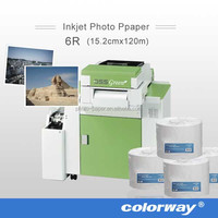 "Professional Inkjet Photo Paper, 10""X100m Lustre Dry Lab Paper for Kodak 260gsm"