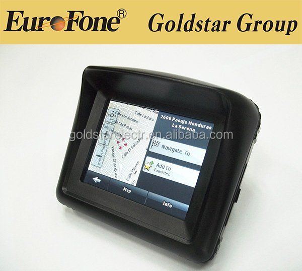 "Newest Portable 3.5"" inch Touch Screen Motorcycle /Bike /Car GPS UNIT Sat NAV Navigation System Device DVR Camera Records"