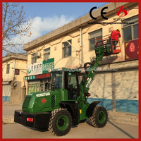 Telescopic Boom Front Wheel Loader 2 tons Made in China