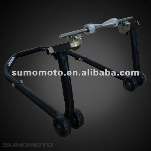 Universal Steel Stand Patented for Motorcycle Rear and Front SMI3011P all-in-one