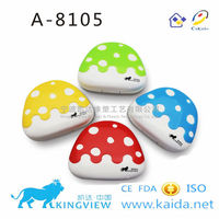 A-8105 funny mushroom contact lens box for gift