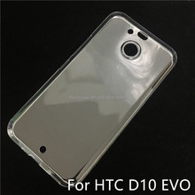 Soft TPU Silicon Transparent Clear Case for HTC 10 evo