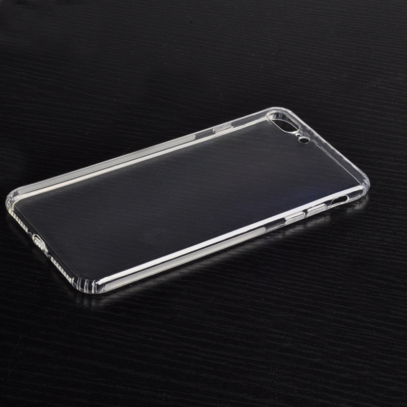 DFIFAN Transparent crystal clear 0.7mm thin protect shell case for iphone 7 case tpu, back cover case for iphone 7