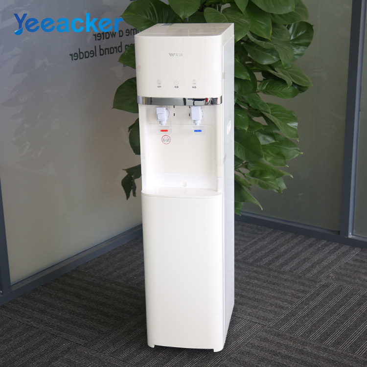 Basic stand drinking ro water dispenser hot and cold water machine