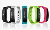 Sports Wireless Bluetooth Headset Pedometer Wristband smartband manufacturer