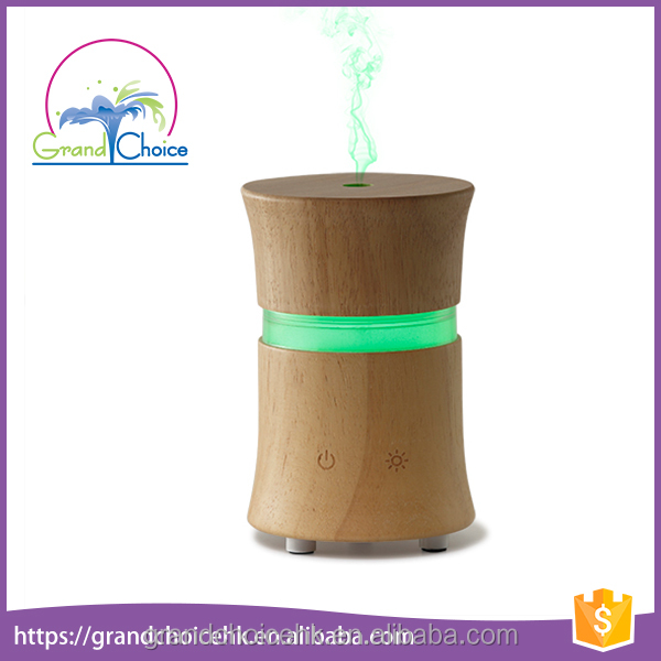 OEM customized ultrasonic scented wood water air freshener