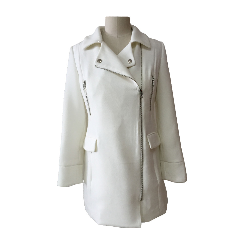 Best Quality Alibaba Wholesale Uniform Design Ladies Long Trench Coat