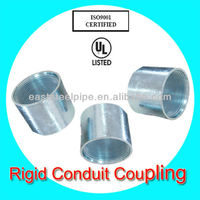 hot dip galvanized pipe coupling joint supplied by weifang manufacturer
