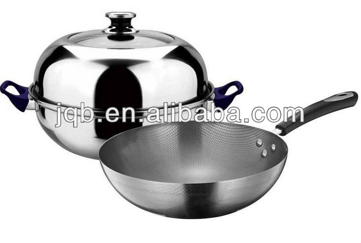 Professional stainless steel cookware