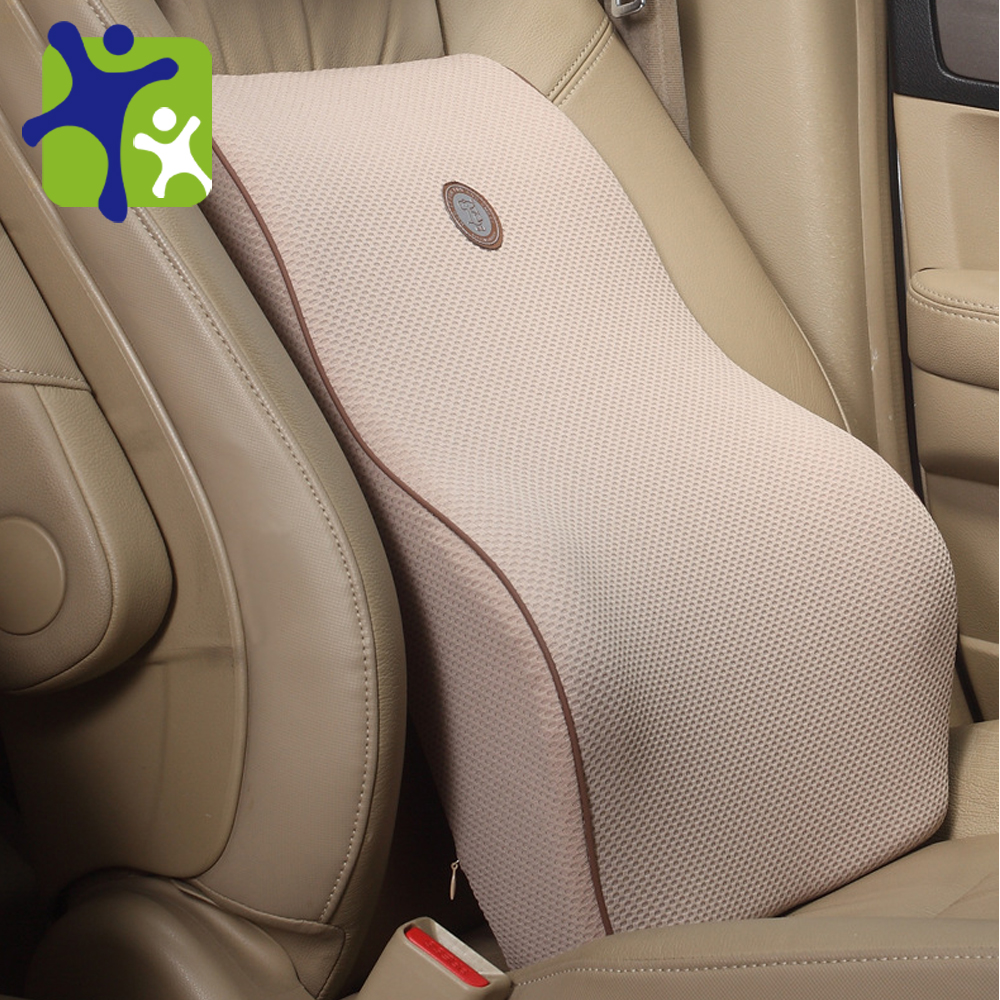 Bamboo charcoal massage Memory cotton waist car cushion,high 47cm cushions