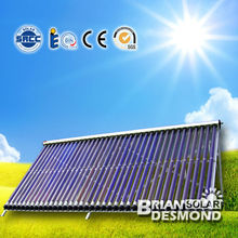 Best Efficiency Pressurized Solar Thermal Vacuum Tube Heat Pipe Solar Collector