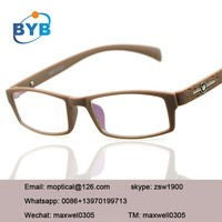 2015 High quality most popular computer eyewear glasses with anti radiation lens