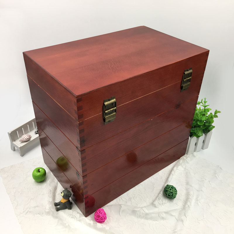 New fashion wooden wine crates for sale wooden box for wine bottle