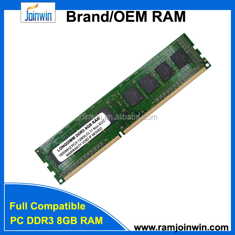 Brand and model number CPU memory ram ddr3 8gb for desktop