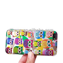 Colorful lagging out protect case for iphone5c