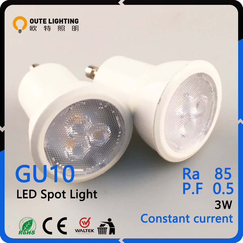 High Quality CE RoHS 3W GU10 Led Spot Lamp