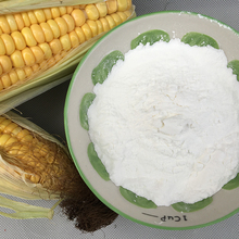 white powder corn starch
