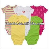 2012 Fashion 100% Cotton Baby and Infant Clothing