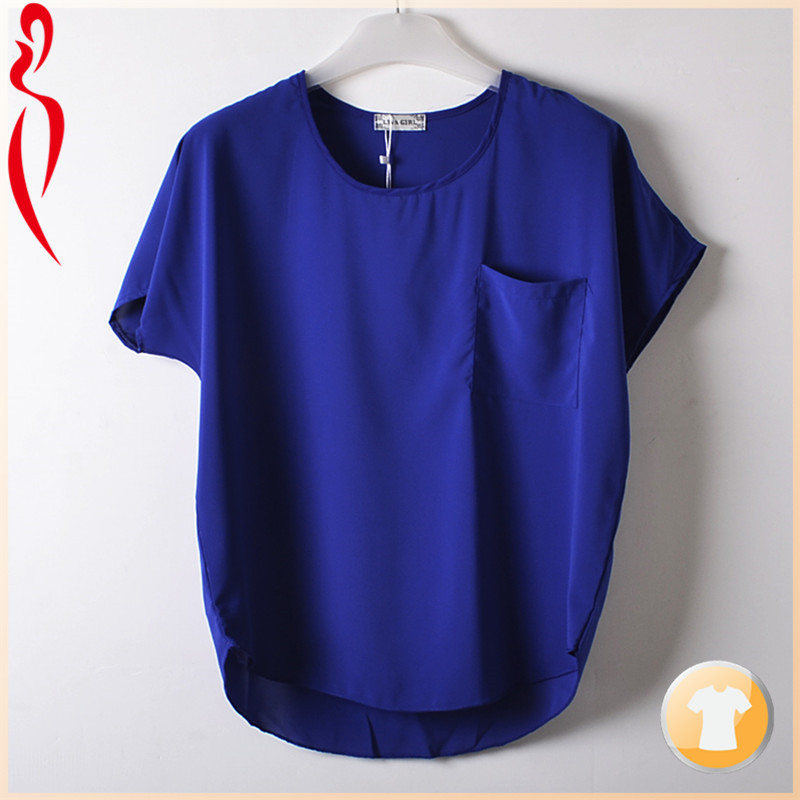 Hot selling ladies woolen top for summer
