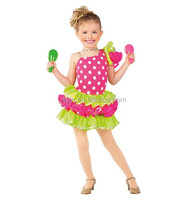 2015 hot styles-uinque carival summer baby dance wear- ballet dancing dress