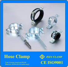 China wholesale aliexpress sping clamp/all types/galvanized pipe connection clamp