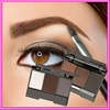 High quality eyebrow makeup powder for eye brow colored OEM face make up
