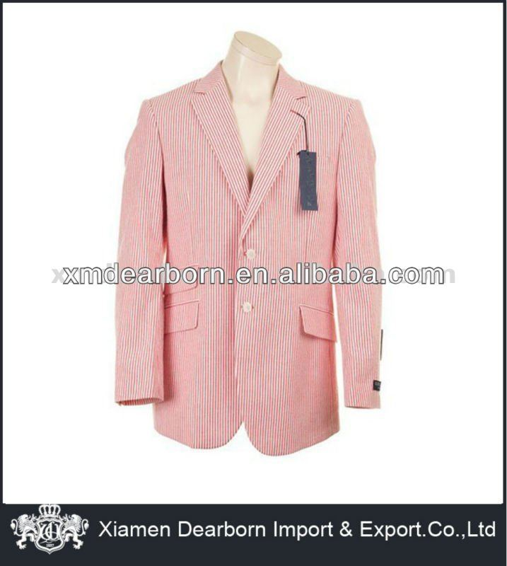 red striped mens suit jacket