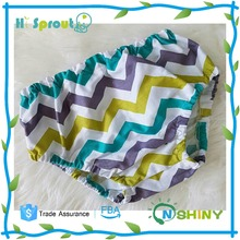 Colorful Chevron Nice Design Baby Cloth Diaper Cover