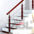 DD058 Stainless steel railing column outdoor metal stair railing