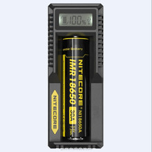 High definition LCD displays single bay universal USB Nitecore UM10 charger