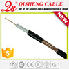 Television accessories coaxial cable(3c2v,4c2v,5c2v,rg58,rg59,rg6,rg11,combo cable,cat3,lan cable) for micro cctv camera