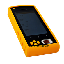 Fingerprint Handheld Terminal with WIF, GPRS, GPS, Bluetooth, Camera, Mobile Phone, and barcode function
