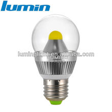 e12 led bulb 7w ra>80 270 degree beam angle