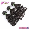 Natural color top quality best popular brazilian human hair weave