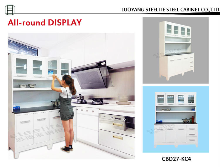 Iron kitchen cabinet new model cabinet brazil style for Ready built kitchen cabinets