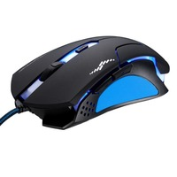 High quality T7 Wired 3 Color Changeable 1200 DPI 1600DPI 2400DPI Gaming USB Optical Mouse