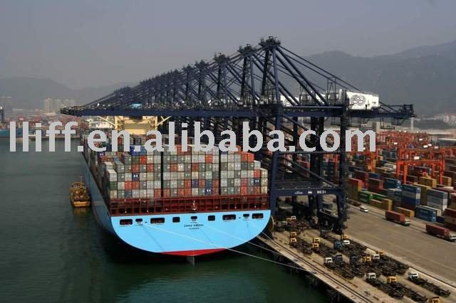 shipping container Shenzhen China to Boma Zaire container freight shipping