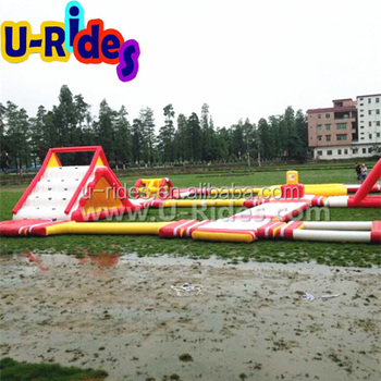 giant floating Inflatable Water Park