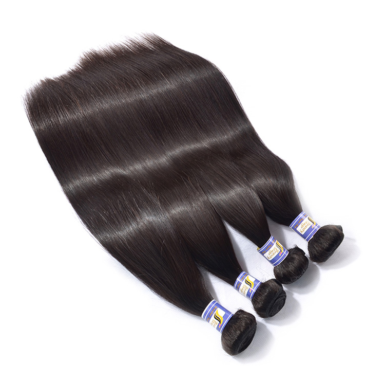 Ideal high quality remy brazilian hair weave 1b 33 27 color, cheap raw indian hair directly from india