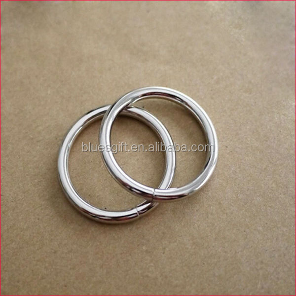 4.30MM hardware metal O ring for dog collar