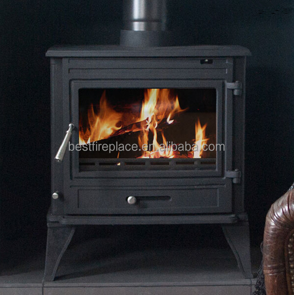 Contemporary Wood Burning Stoves China Indoor Fireplace Factory Price Free Standing Cast Iron
